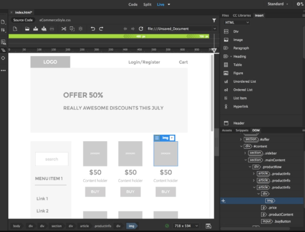 Adobe Dreamweaver for Windows