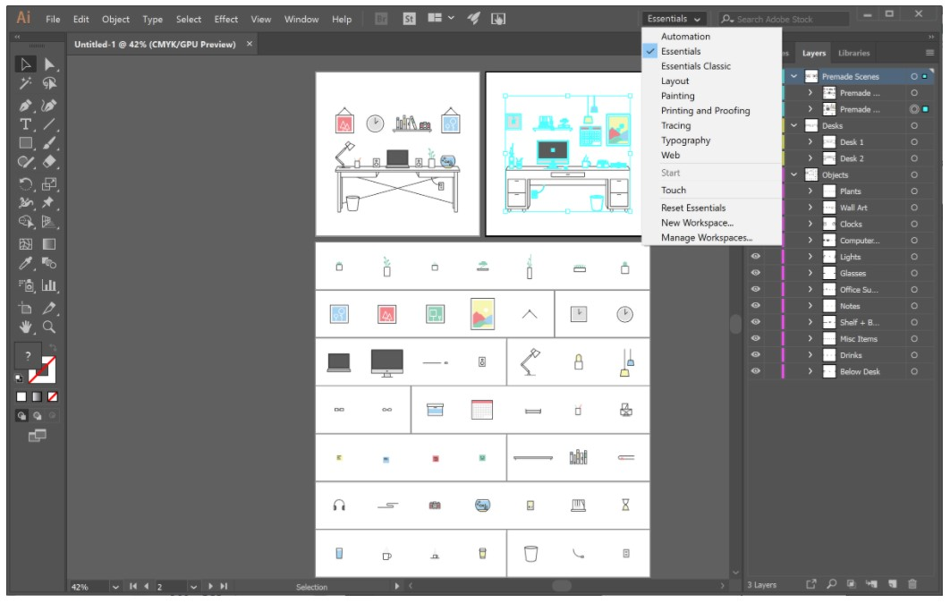 Adobe Illustrator CC for Windows