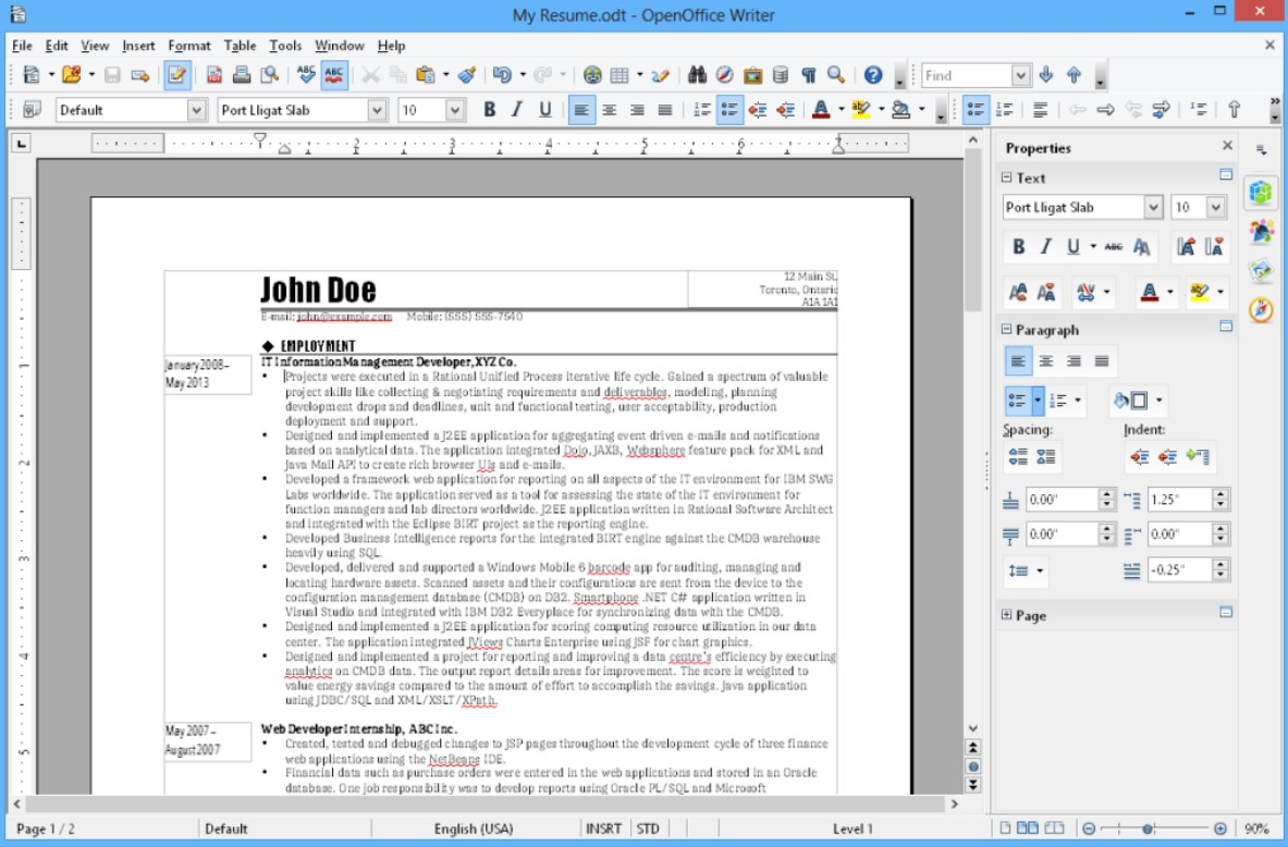 Apache OpenOffice for Windows