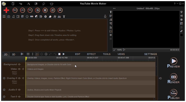 YouTube Movie Maker for Windows