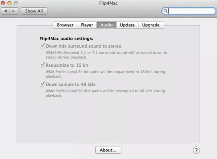 Flip4Mac Player for Mac