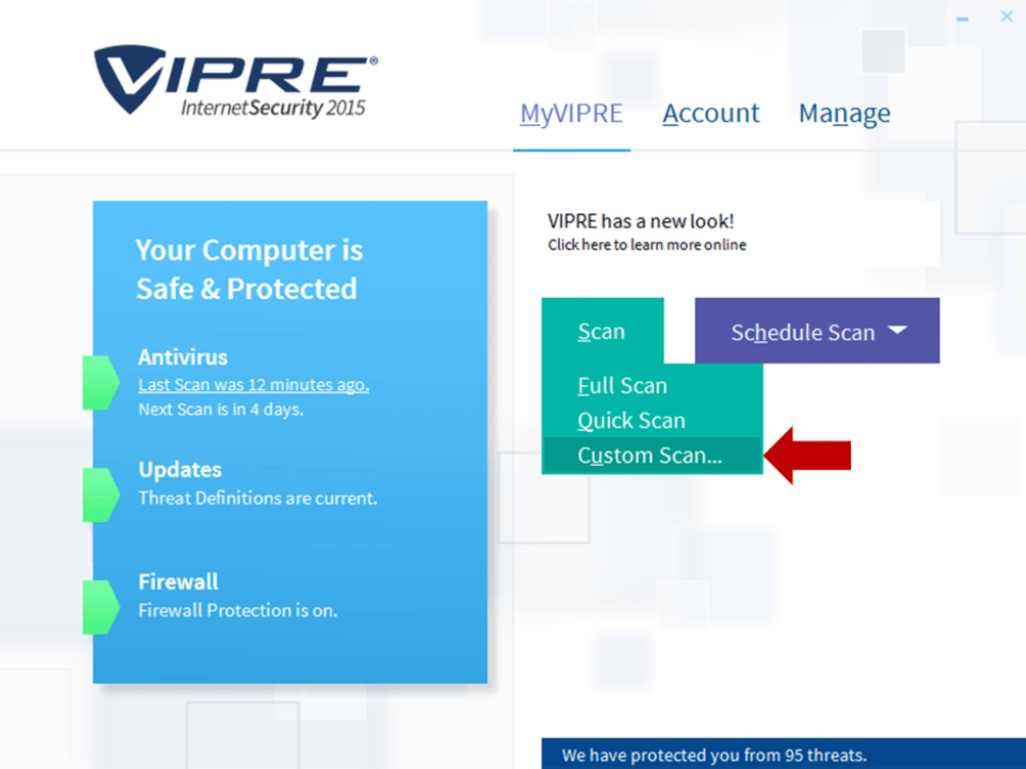VIPRE Internet Security for Windows