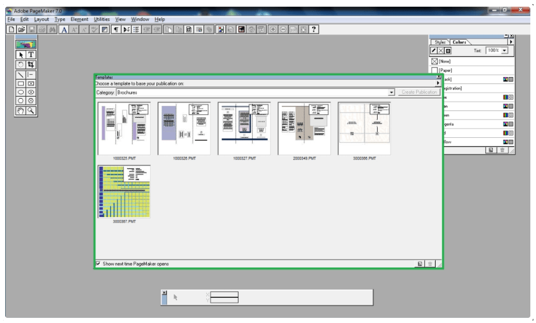 Adobe PageMaker for Windows
