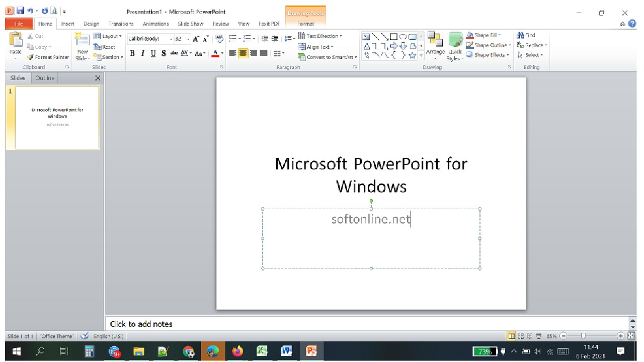 Microsoft PowerPoint for Windows