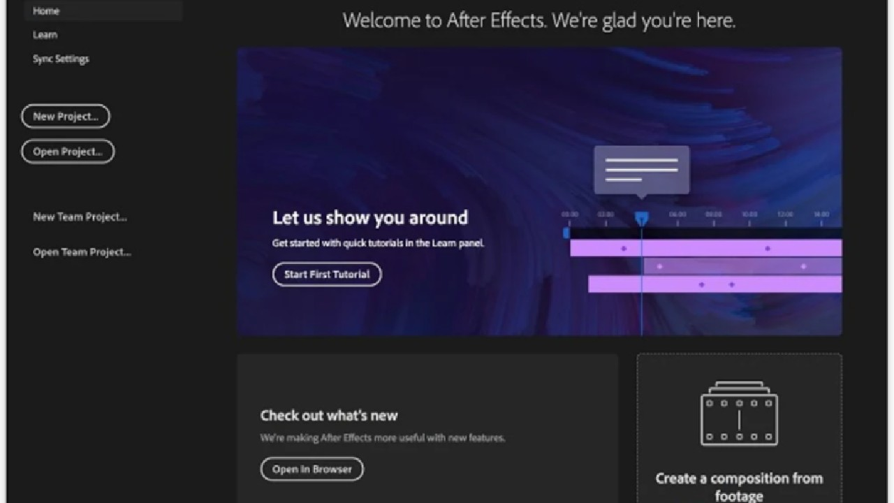 Adobe After Effects for pc