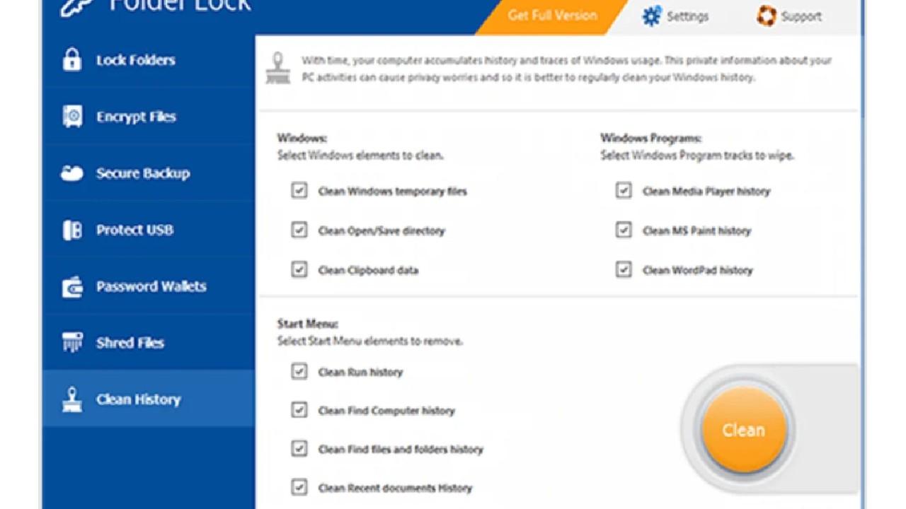 Folder Lock for PC Windows