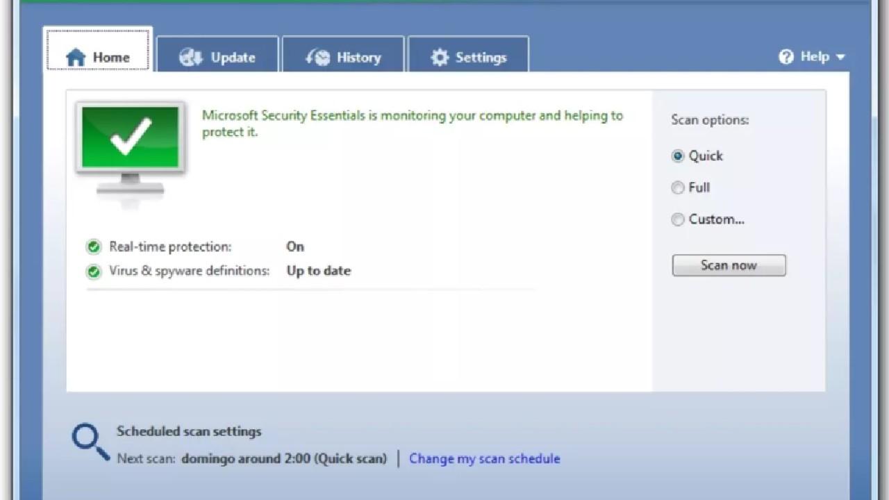 Microsoft Security Essentials pc