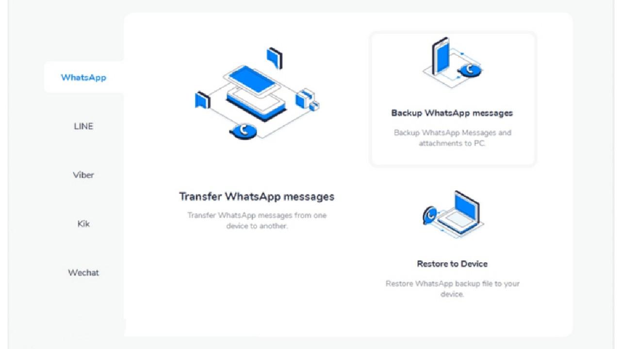 MobileTrans for Windows