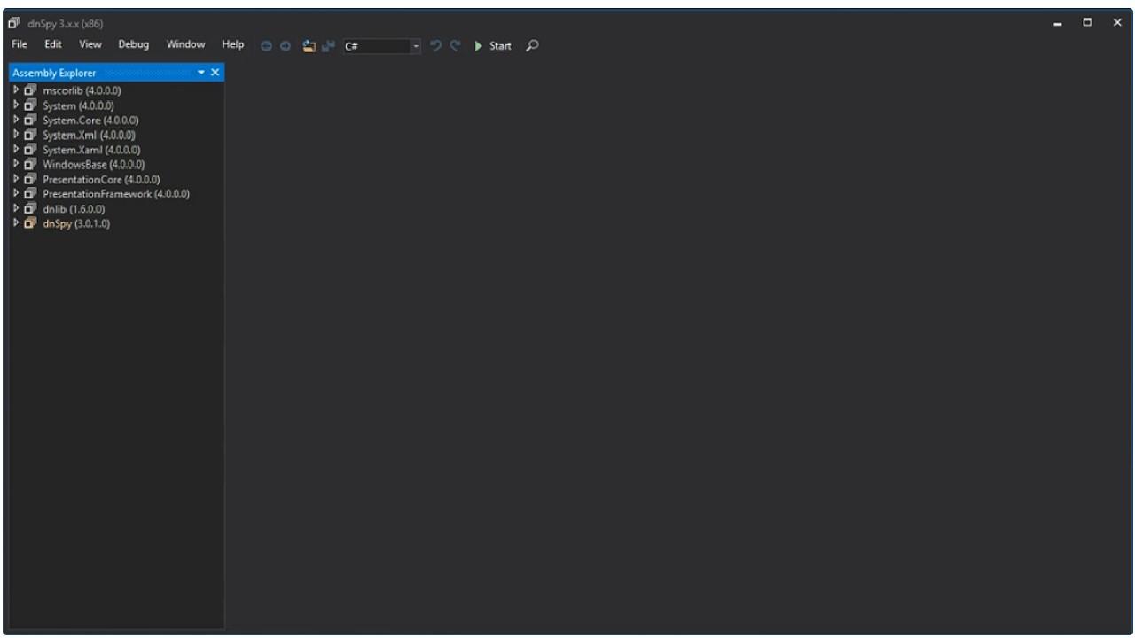dnSpy for Windows