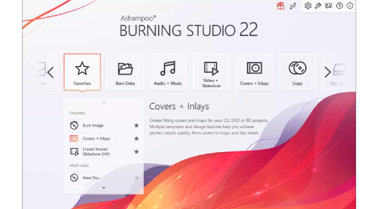 Ashampoo Burning Studio for windows