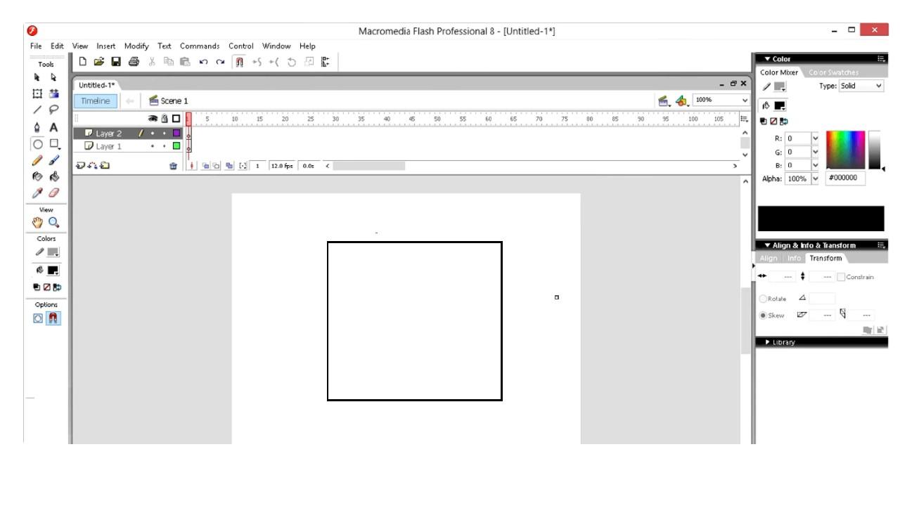 Macromedia Flash 8 for Windows