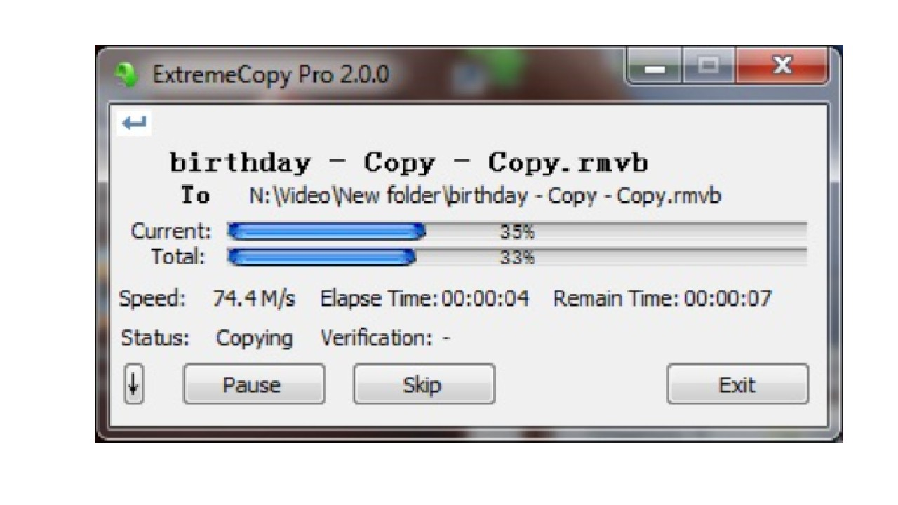 ExtremeCopy Pro for Windows