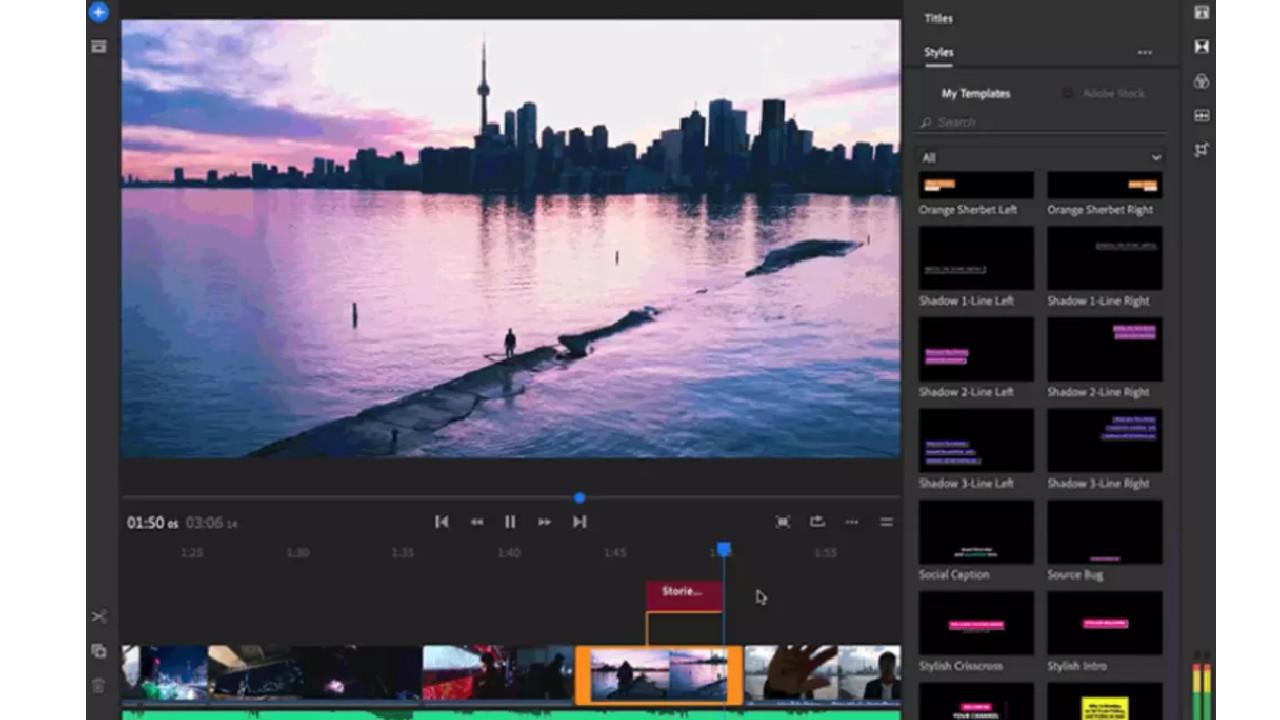 Adobe Premiere Rush for Windows