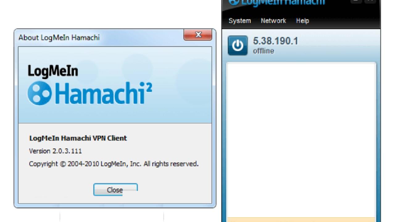 LogMeIn Hamachi for Windows