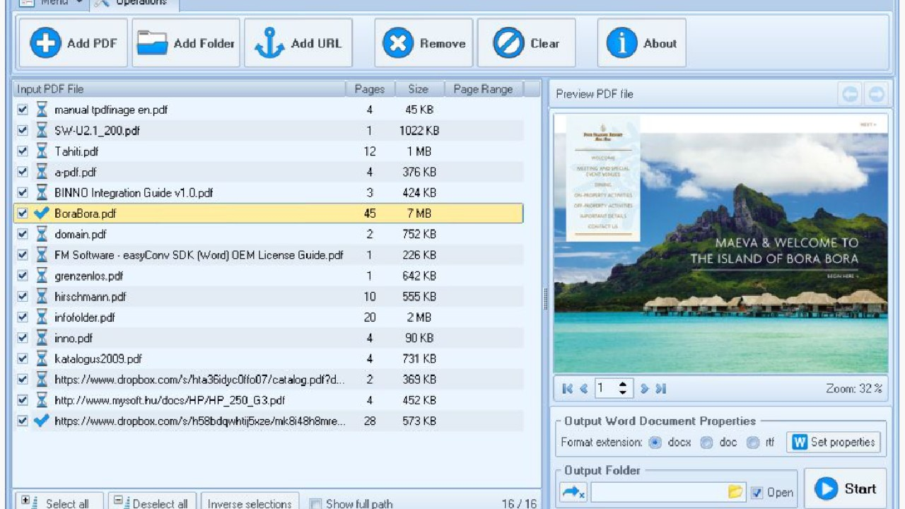 PDF To Word Converter Free for Windows