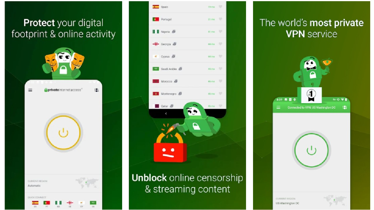 VPN by Private Internet Access APK (2021) for Android free Download