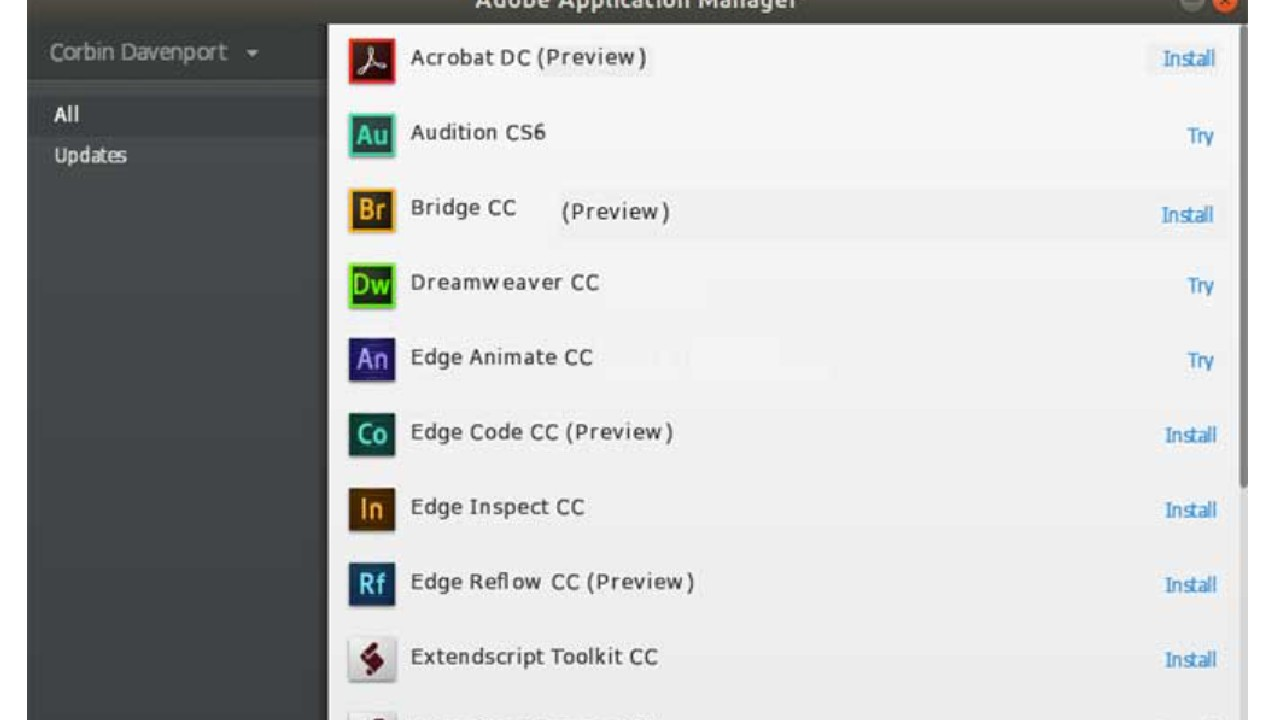 Adobe Application Manager for Windows