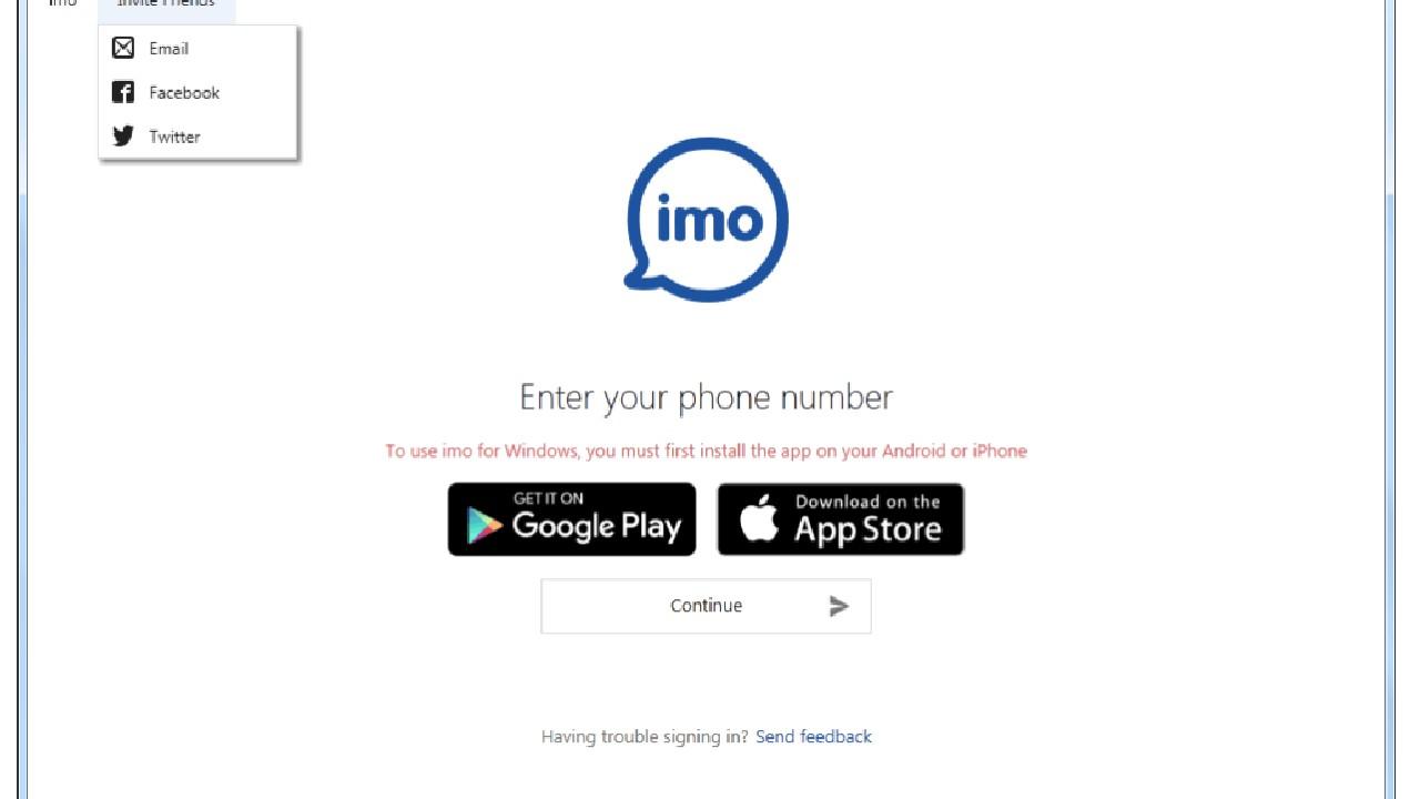 Imo Messenger for Windows