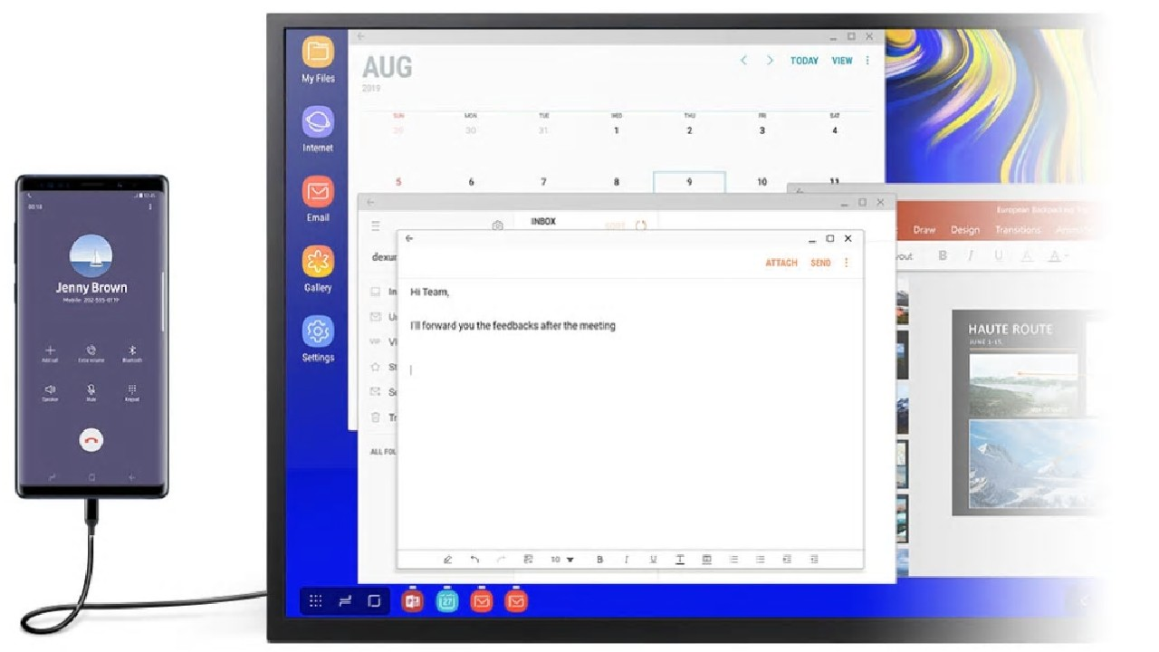 Samsung DeX for Windows