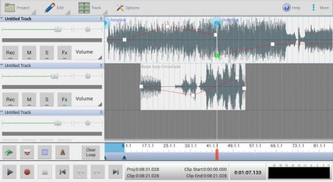 Best applications to edit audio on Android