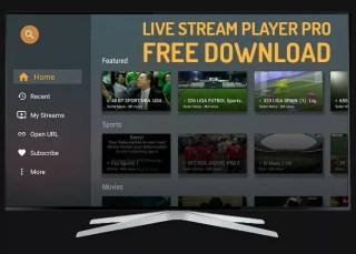 Live Stream Player Pro