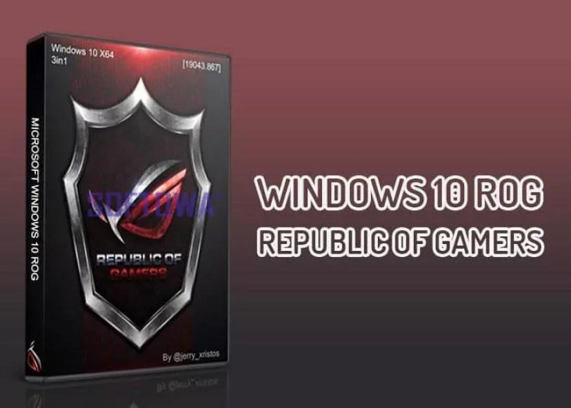 Windows 10 ROG - Republic of Gamers