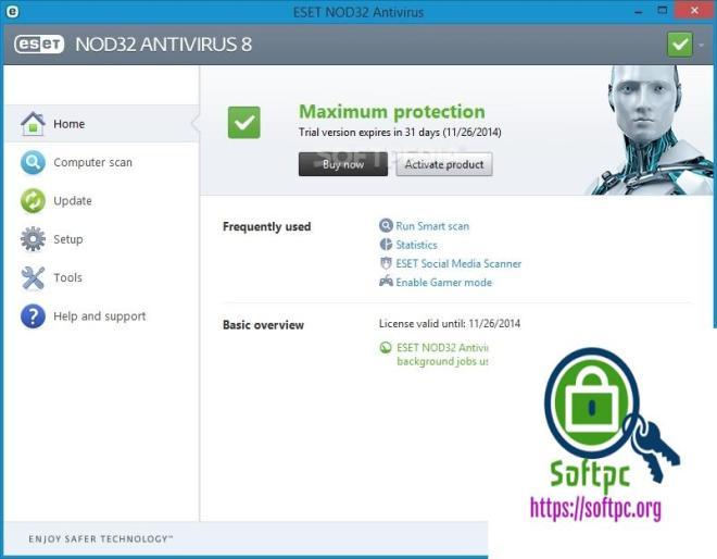 ESET NOD32 Antivirus 12.1.34.0 Crack + License Key Full Free Download