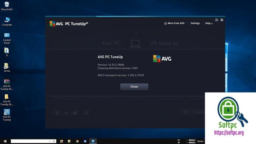 AVG PC TuneUp 19.1 Build 1089 License + Crack Key Full Version 2019