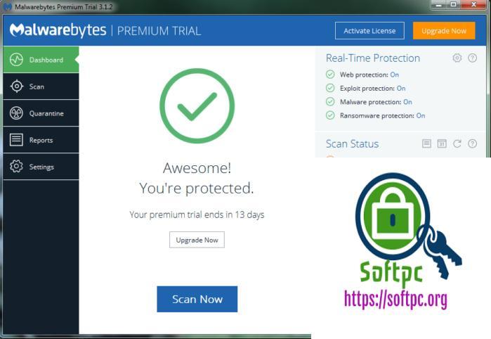 Malwarebytes Anti-Malware Crack With 2020 License Key Free Download