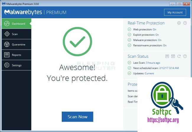 Malwarebytes Anti-Malware 2019 License Plus Full Crack Key