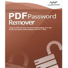 Wondershare PDF Password Remover 1.5.3 Crack + Serial Key 2019 Free Here