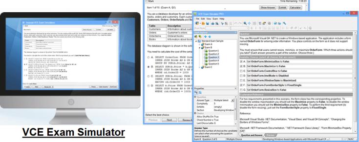 Image result for VCE Exam Simulator 2.6.2 Crack