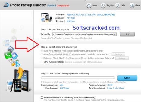 iPhone Backup Unlocker Full Download