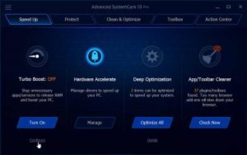 Advanced SystemCare 11.4.0 Pro Serial key