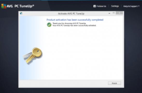 Avg pc tuneup 2015 ключ активации бесплатно