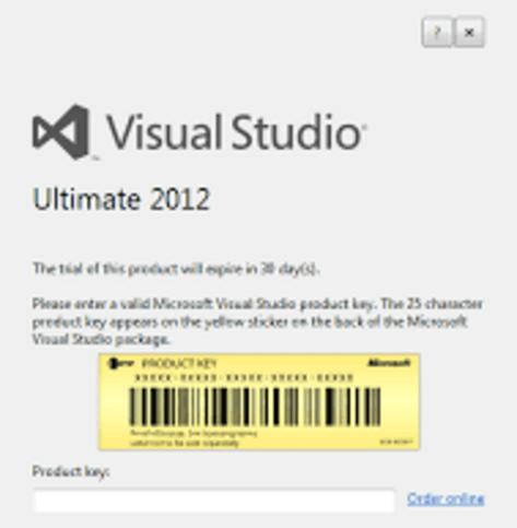 Microsoft Visual Studio Ultimate 2012 Buy Key