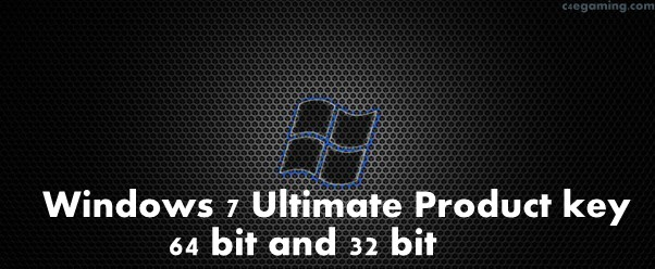 key for windows 7 ultimate 64
