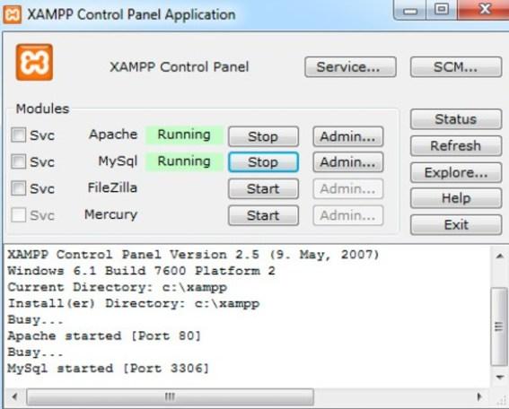 XAMPP Download For Windows 7, 8, 8.1,10