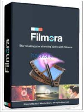 Wondershare Filmora 9.1.3.22 Crack With Serial Key Free Download 2019