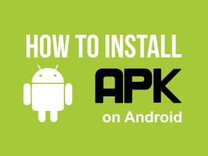 How to install APK on Android device