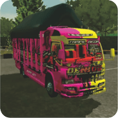Mod Truck Canter BUSSID Complete