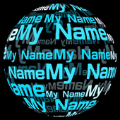 My Name in 3D Live Wallpaper