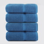 Bath Towel Evening Blue