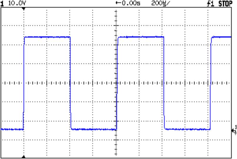 Screen Capture of Calibrator Signal