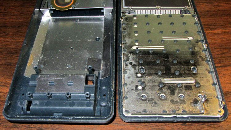 hp 48gx calculator disassembly