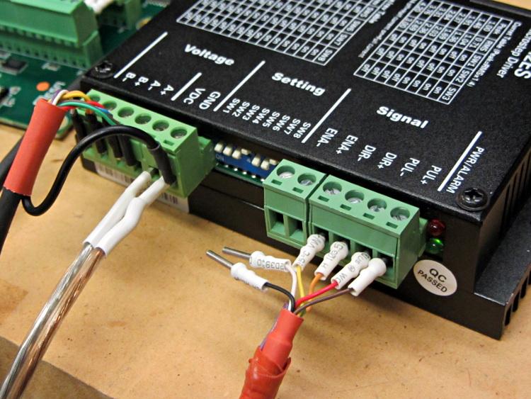 Cnc Stepper Motor Wiring Diagram