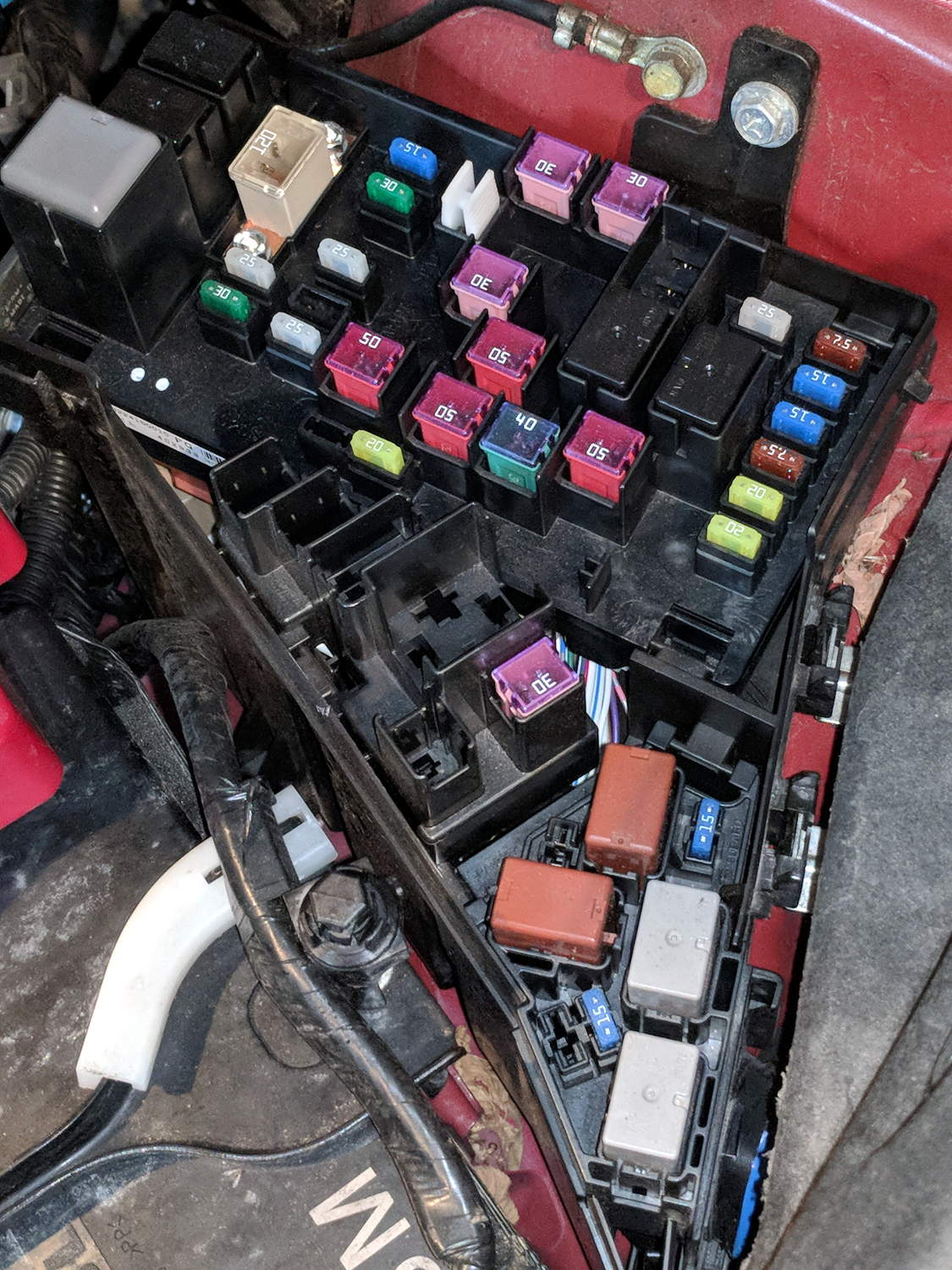 hight resolution of subaru forester fuse boxes the smell of molten projects in the morning 2000 ford f 150 fuse box diagram how looks the fuse box