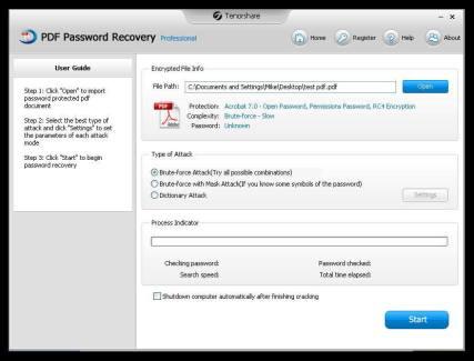 PDF Password Remover Crack