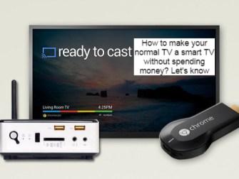 normal TV a smart TV