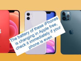 battery of these iPhones